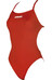 arena Solid Lightech High Swimsuit Women red/white